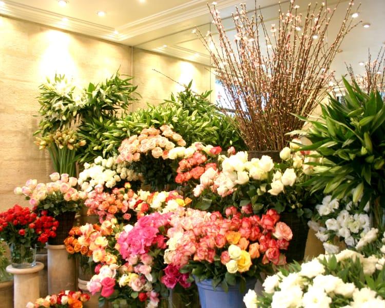 フランスの花業界のお話